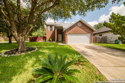 San Antonio Single Family Home New: 13722 Winding Hill