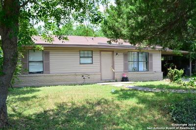 San Antonio Single Family Home Active Option: 123 Bonanza Dr