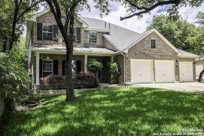 Stonewall Ranch Single Family Home For Sale: 411 Senna Trail