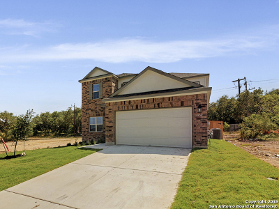 Bexar County Single Family Home New: 12141 Tower Forest