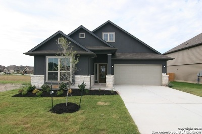 Schertz Single Family Home New: 4675 Grey Sotol Way
