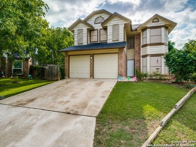 San Antonio Single Family Home New: 14206 Fairway Basin