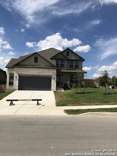 Cibolo Single Family Home New: 417 Saddle Glen