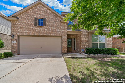 Schertz Single Family Home For Sale: 3033 Pencil Cholla