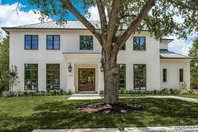 Terrell Hills Single Family Home For Sale: 608 Morningside Dr
