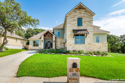 New Braunfels Single Family Home For Sale: 617 Hannahs Run