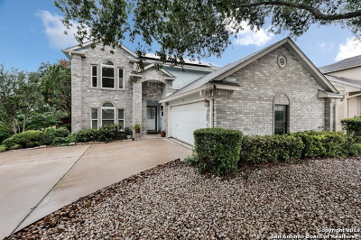 Stone Oak Single Family Home Price Change: 902 Amberstone Dr