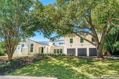 Terrell Hills Single Family Home For Sale: 808 Ridgemont Ave