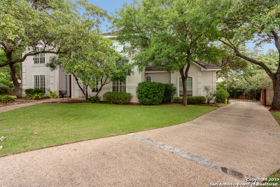 San Antonio Single Family Home New: 19208 Reata Cove