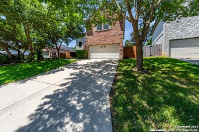 San Antonio Single Family Home New: 15727 Walnut Trail Dr