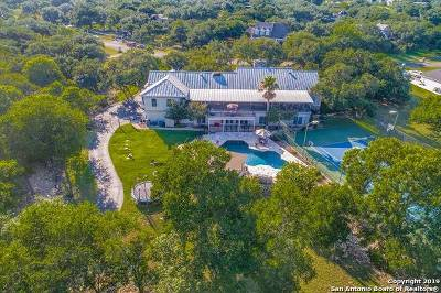 Boerne, Cibolo, Converse, Fair Oaks Ranch, Helotes, Leon Valley, New Braunfels, San Antonio, Schertz, Windcrest Single Family Home New: 8608 Summer Song Circle