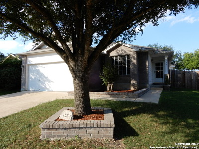 Cibolo Single Family Home Active Option: 105 Foxglove Pass