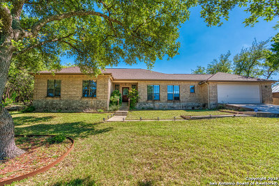 San Antonio Single Family Home New: 258 Ceremonial Ridge