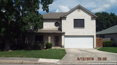 Converse Single Family Home Active Option: 8218 Chestnut Manor Dr