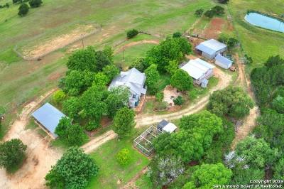 Medina Farm & Ranch For Sale: 341 Medina Hills Rd