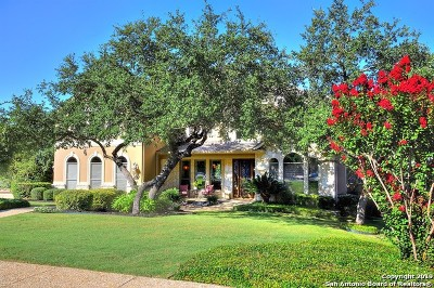 Helotes Single Family Home Active Option: 423 Cavayo Trail