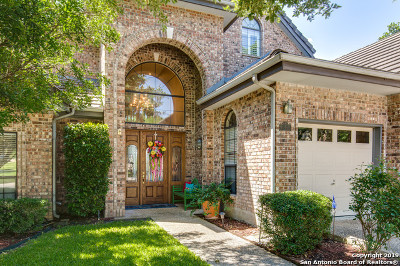Stone Oak Single Family Home New: 19126 Kristen Way