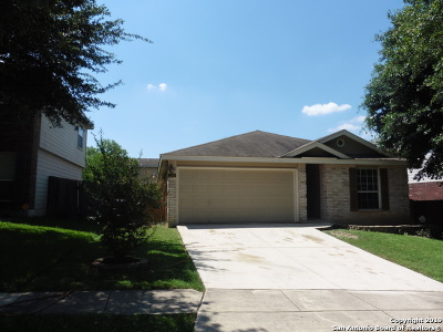 San Antonio Single Family Home New: 234 Riders Walk
