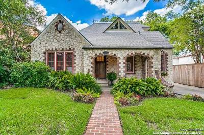 Olmos Park Single Family Home Price Change: 227 Stanford Dr