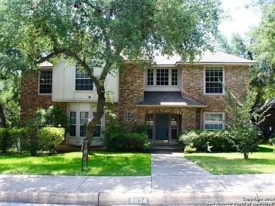 San Antonio Single Family Home New: 8634 Wrexham Heights