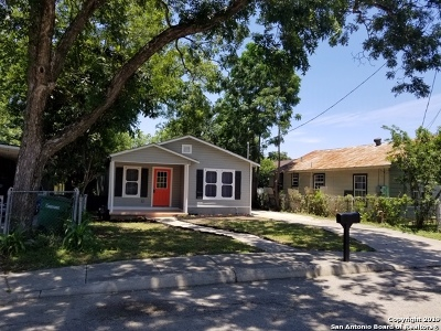 San Antonio Single Family Home New: 233 Hawthorne