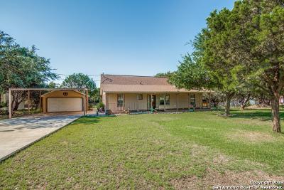 Canyon Lake Single Family Home New: 2021 Comfort