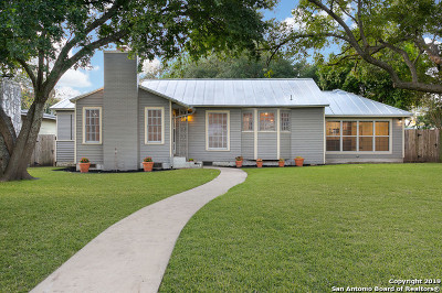 Alamo Heights Single Family Home For Sale: 110 Claywell Dr