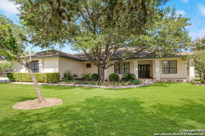 San Antonio Single Family Home New: 21784 Tommy Trail