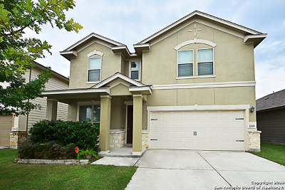 San Antonio Single Family Home New: 2535 Just My Style