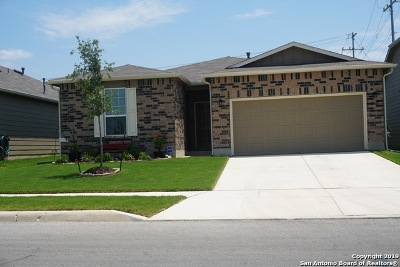 Converse Single Family Home For Sale: 10606 Century Farm Dr