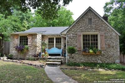 San Antonio Single Family Home New: 112 E Sunset Rd