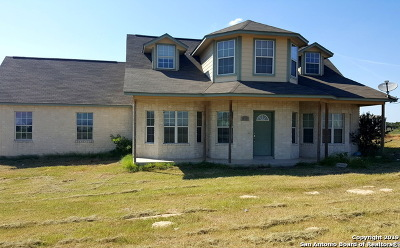 Floresville Single Family Home Price Change: 1231 County Road 320