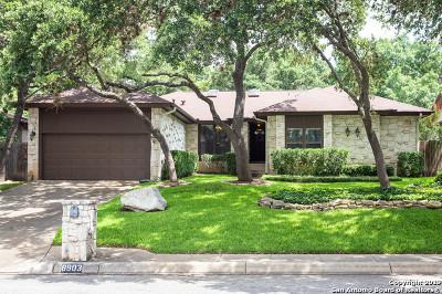 San Antonio Single Family Home New: 8903 Rustling Branches