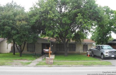 San Antonio Single Family Home New: 1310 Oblate Dr