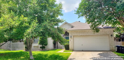 San Antonio Single Family Home New: 11747 Millsway Dr
