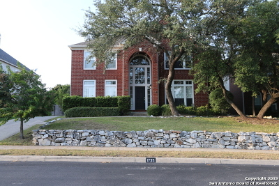 San Antonio Single Family Home New: 1735 Montecino