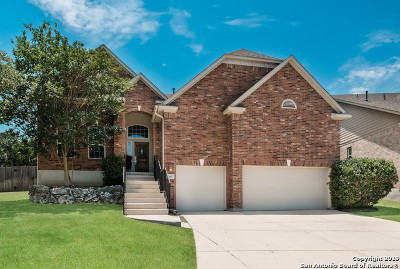 San Antonio Single Family Home New: 23607 Sunset Peak