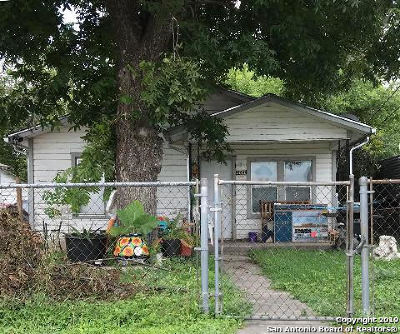San Antonio Single Family Home New: 3022 El Paso St