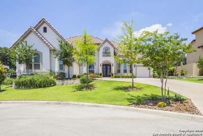 San Antonio Single Family Home Price Change: 6331 Malaga Way
