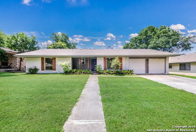 San Antonio Single Family Home New: 1010 Mount Riga