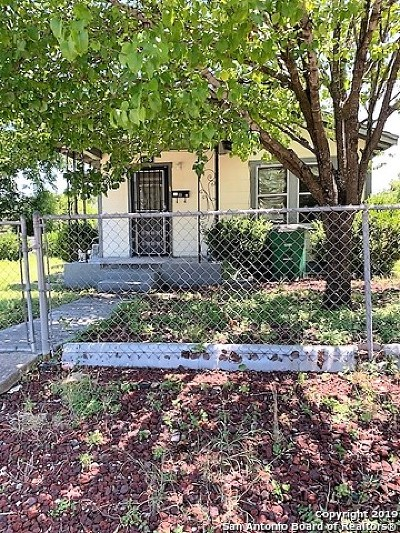 San Antonio Multi Family Home Active Option: 1418 Lamar