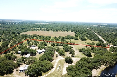 Atascosa County Farm & Ranch For Sale: 4590 Eichman Rd