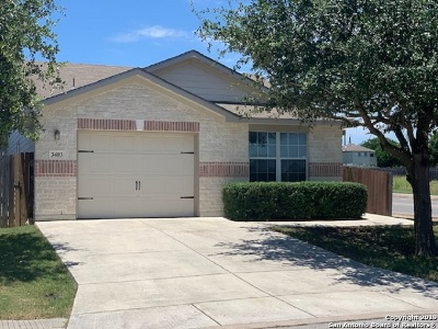 Helotes Single Family Home New: 3403 Calico Corner