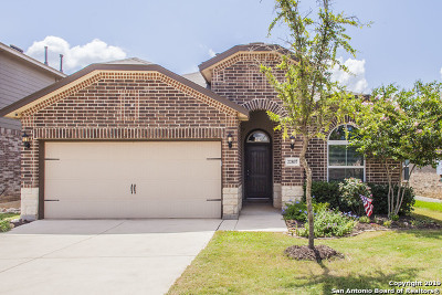 Helotes Single Family Home New: 22807 Akin Town