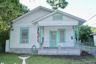 San Antonio Single Family Home New: 2115 W Cesar E Chavez Blvd