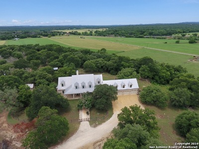 Boerne Single Family Home Price Change: 129 Siebeneicher Rd