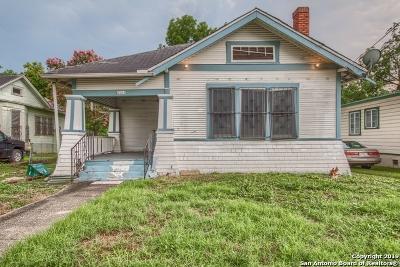 San Antonio Single Family Home New: 1234 Iowa St