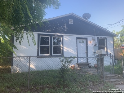 San Antonio Single Family Home New: 3746 San Fernando St