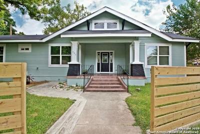 San Antonio Single Family Home New: 601 Hunstock Ave