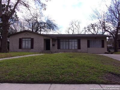 Single Family Home New: 406 Saratoga Dr